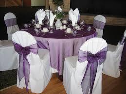 purple chair sashes free shipping 100 pcs purple wedding organza chair cover