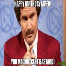 You Are A Pirate Meme - happy birthday kenny you dirty pirate hooker meme ron burgundy