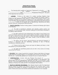 exclusive license agreement template 13 license agreement