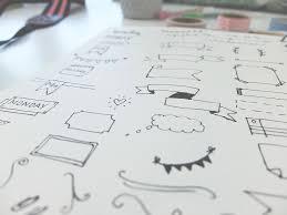 hannahemilylane bullet journal header tutorials and inspiration