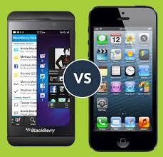 New BlackBerry Z10 vs Apple iPhone 5 @OD73