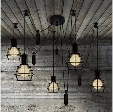 aliexpress com buy bar active spider lamp retro industrial
