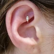ear piercing hoop jewels rook rook piercing jewlry jewlrey diamonds gold hoop