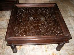 furniture indian coffee table ideas carved wood coffee table