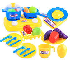 Plastic Toy Kitchen Set Compare Prices On Kids Plastic Play Food Online Shopping Buy Low