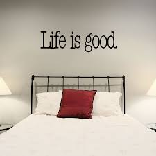wall art ideas design cozy cubbyhole furniture life is good wall wall art ideas design bedroom designs life is good interior removable stickers vinyl on head matters