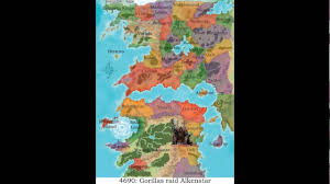 Pathfinder World Map by Revised History Of Golarion Youtube