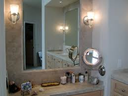 lights electric wall mount makeup mirror with lights mounted