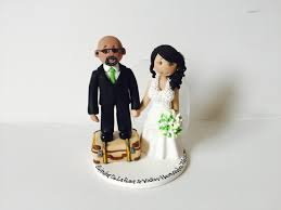 wedding toppers and groom groom and personalised wedding cake topper