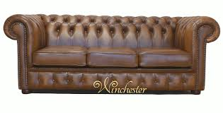 Gold Leather Sofa Chesterfield 3 Seater Birch Antique Gold Leather Sofa Offer