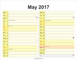 printable calendar 2017 for planner month planner may 2017 free printable calendar 2017