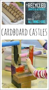 home decor using recycled materials recycled art projects for kids cardboard castles fairy tale