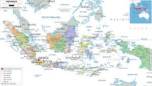 Asia Political Map Detailed Clear Large Map Of Indonesia Ezilon Maps