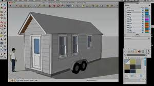 Home Design Software Google Sketchup How To Draw A Tiny House With Google Sketchup U2013 Part 5