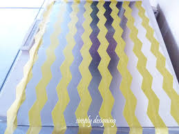 Magnetic Bulletin Board Diy Chevron Magnetic Board