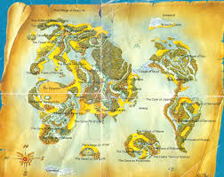 map from dragon quest iii based off of earth new zealand is