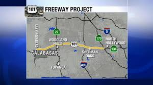 Caltrans Traffic Map Caltrans Project Set To Start On 101 Fwy From Calabasas To Studio