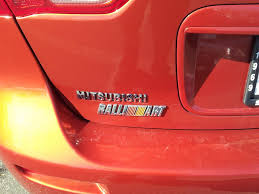 mitsubishi evo emblem chrome ralliart badge evolutionm mitsubishi lancer and lancer