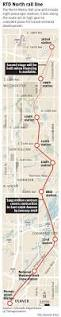 Houston Metro Rail Map by Denver U0027s Northern Suburbs Welcome Rtd Rail Line U2013 The Denver Post