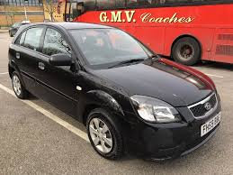 kia rio 1 hatchback 5 door black 2010 59 reg 84000 miles new mot