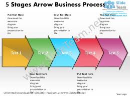 business power point templates 5 state diagram ppt arrow process sale u2026