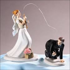 cake wedding toppers collections of wedding cake toppers fishing wedding ideas