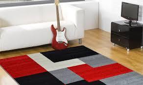 tappeto moderno rosso offerta tappeti moderni idées de design d intérieur