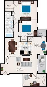 house plan two bath floor unique 2br den bedroom apartments in