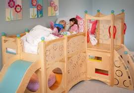 Loft Beds For Kids With Slide Kids Bunk Beds With Slide And Loft Beds Kids Bunk Beds With