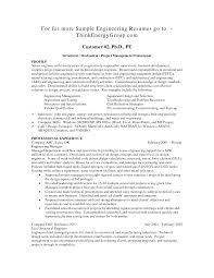 engineering cv format resume sample template junior industrial