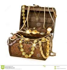 treasure chest with diamonds stock photo image 50041871