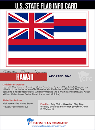American State Flags Hawaii State Flag U2014 Custom Flag Company
