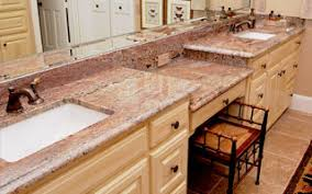 Bathroom Vanity Counter Top Granite Countertops By Stonetex Llc Dallas Tx