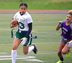 How To Start A Youth Flag Football League New Dorp Girls U0027 Flag Football Team Defeats Susan Wagner 12 6 In