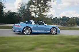 porsche 911 targa 4s exclusive design edition wears classic 356 color