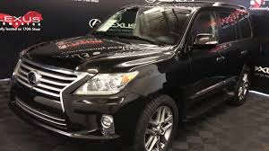 lexus suv lx used used black 2014 lexus lx 570 ultra premium package in depth review