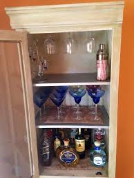 Shelves For Cabinets Inside Diy White Liquor Cabinet With Glass Door And 3 Ample Shelves