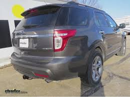 ford explorer package trailer hitch installation 2015 ford explorer hitch