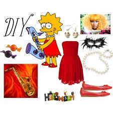 Halloween Costumes Simpsons Lisa Simpson Costume Polyvore