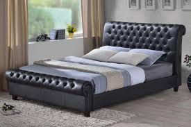 Richmond Bed Frame Time Living Richmond Faux Leather Bed Frame Bedworld At Bedworld