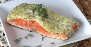 Salmon With Dill Mustard Sauce by 5 Ingredient 10 Minute Creamy Dill Salmon