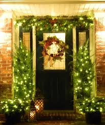 christmas decorating ideas for the front of house decoration