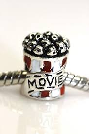 european bead charm bracelet images Movie charm popcorn bag european bead charm for snake jpg