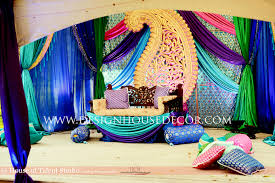 peacock themed wedding with this mandap mandap ideas