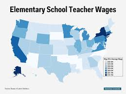 How Much Should I Charge To Design A Business Card Elementary Teacher Salary Map Business Insider