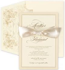 3 Perfect Ideas To Create Ivory Wedding Invitations Plumegiant Com