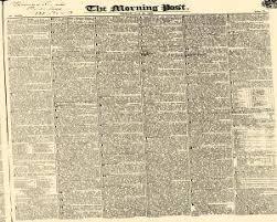 m t o la chaise dieu morning post newspaper archives jun 22 1832
