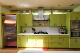 Modern Green Kitchen Cabinets Kitchen Green Kitchen Cabinets And White Countertop Near