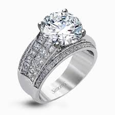 enchanting thick band diamond engagement ring 70 in home design