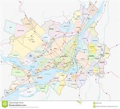 Map Of Montreal Canada by Greater Montreal Map Stock Illustration Image 69431897